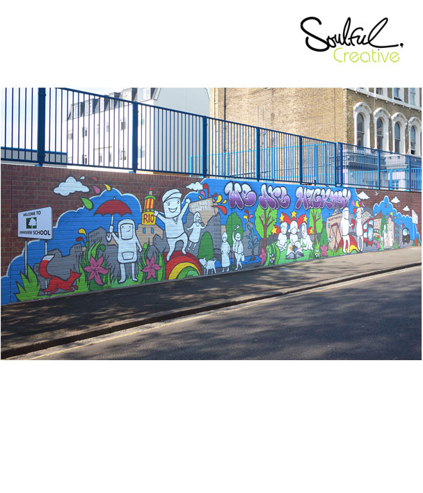 We are Hackney Community Mural