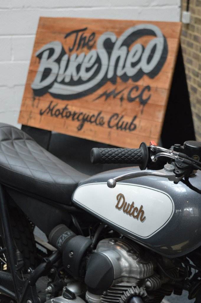 BikeShedWoodenSign