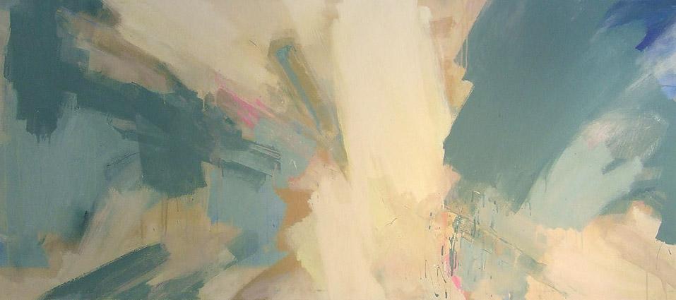 'Connexions II' 2006 (210x80cm) Mixed Media on Canvas