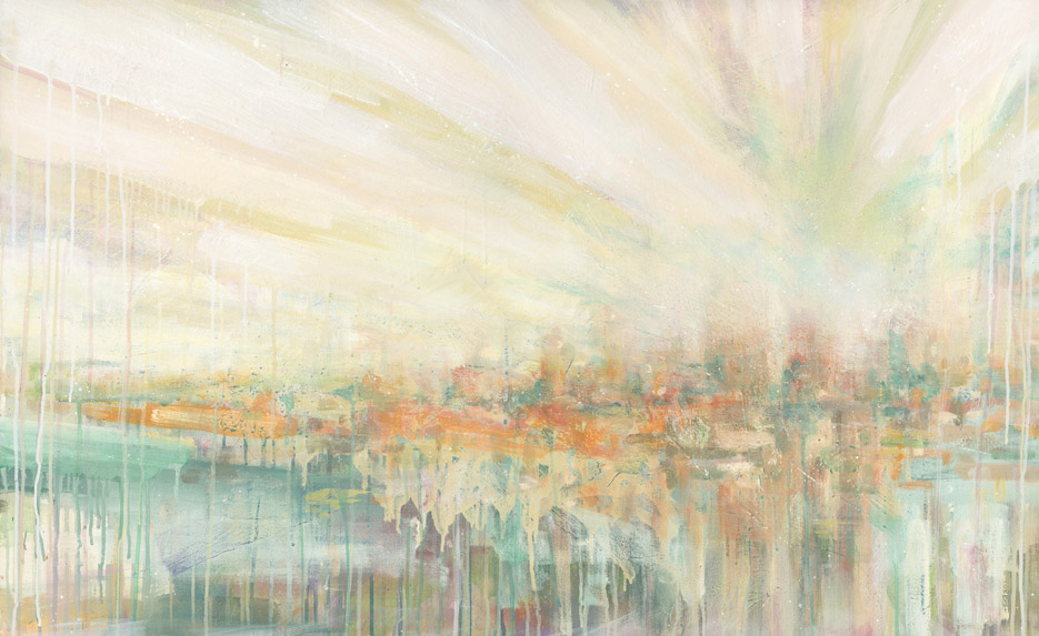 'Morning Over' 2011 (220x100cm) Acrylic on canvas