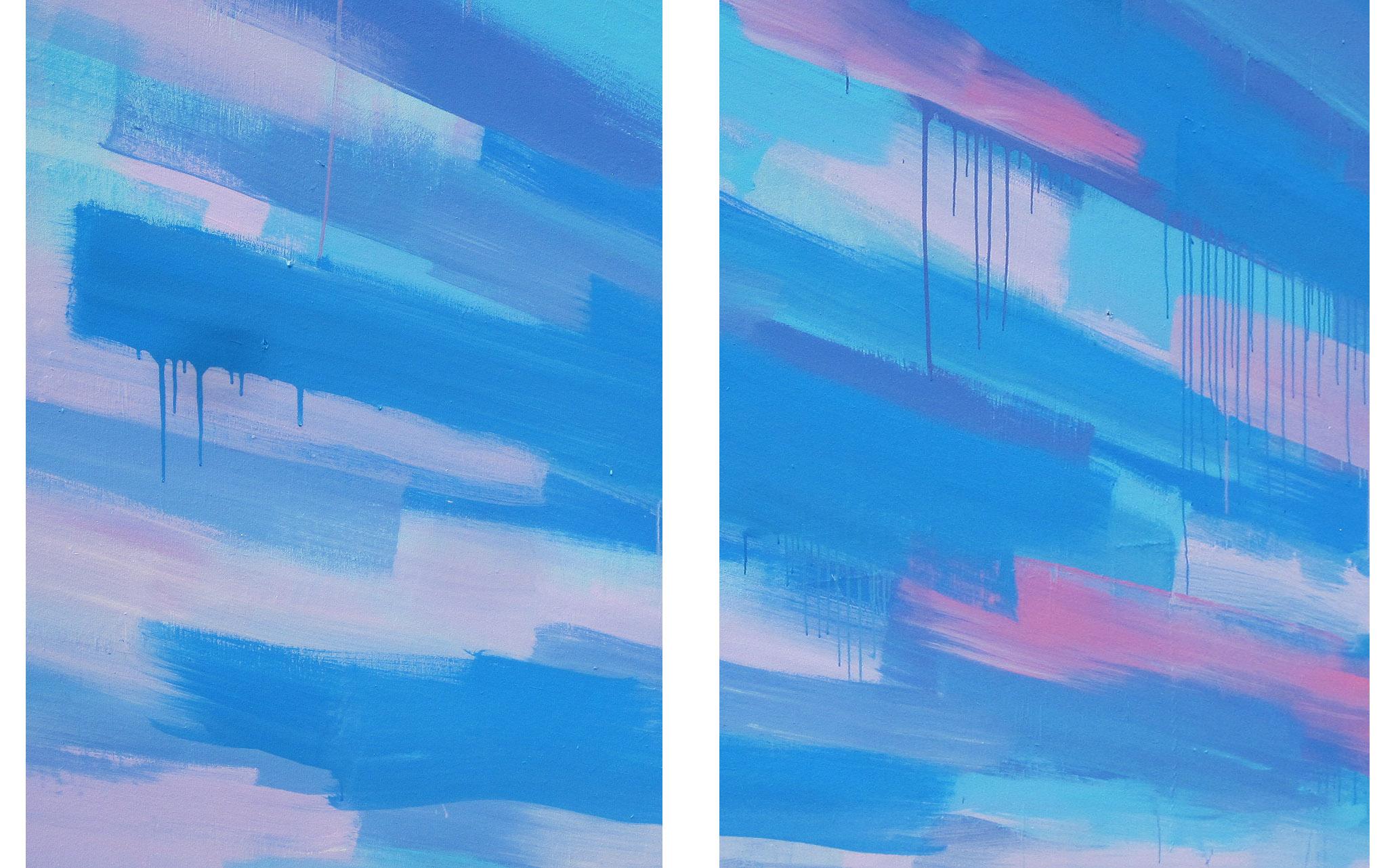 'Precipitate' Dyptich 2011