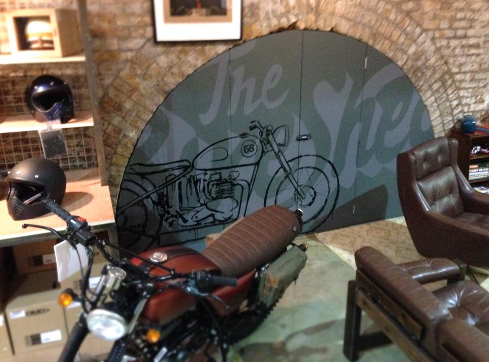 BikeShedMural