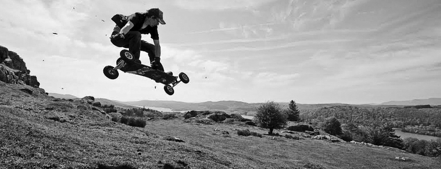 Dan-Mountainboarding