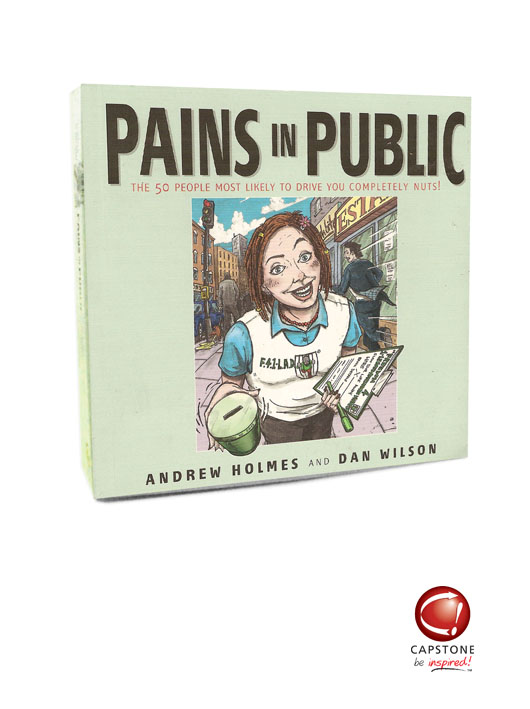 'Pains in Public' Book
