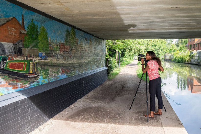 Oxford Canal Mural Project