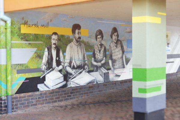 Millgate public murals