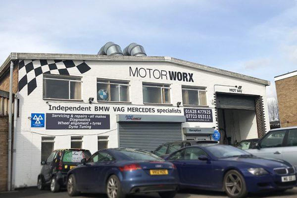 Motorworx Signage